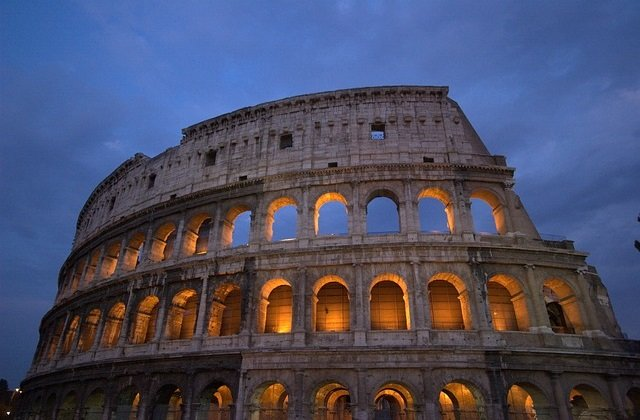 Return flights to Rome, Italy